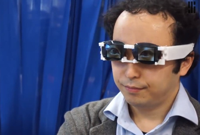 Cyborg video glasses show emotion so you don't have to