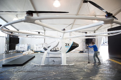 Flying taxi startup Volocopter raises $55 million in round led by Volvo parent Geely