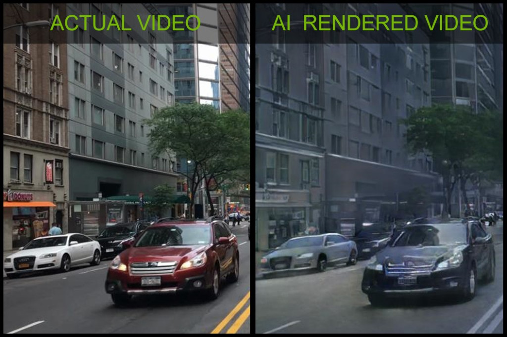 Nvidia has created the first video game demo using AI-generated graphics