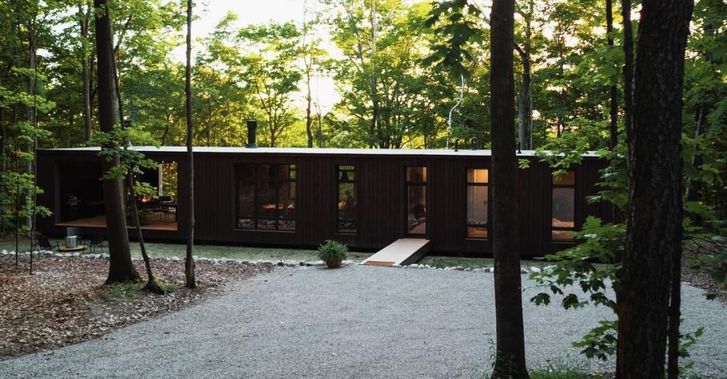 Moody modern house raises the bar for kit homes