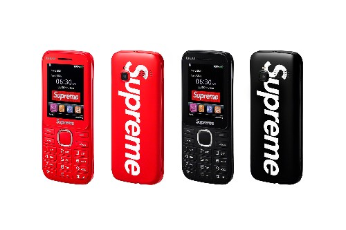 Supreme's new feature phone is for hypebeasts only