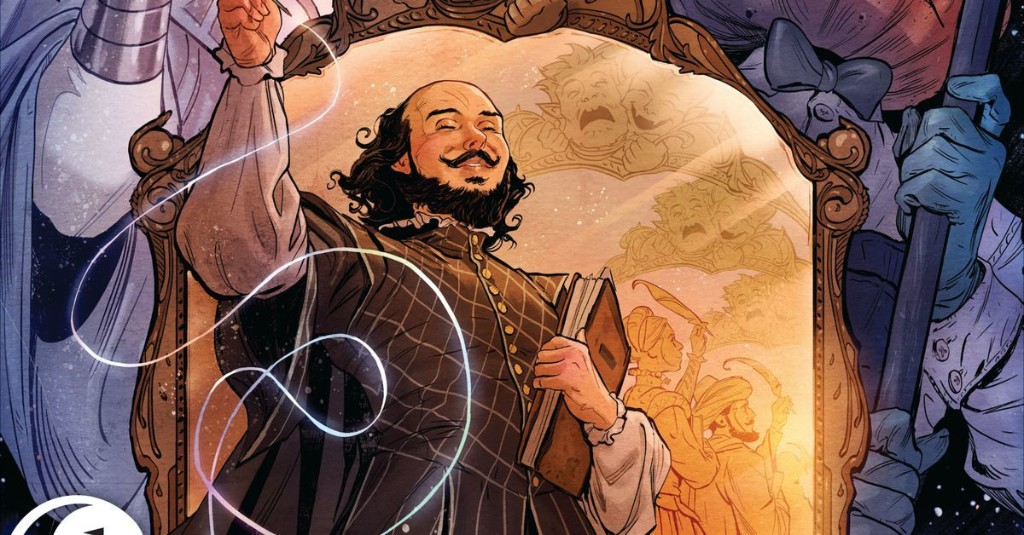 The newest Sandman comic is chasing the true identity of Shakespeare in the best way