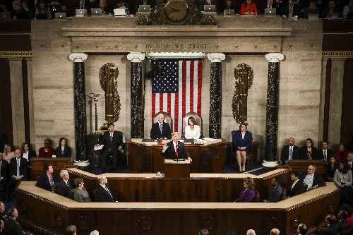 Trump's 2019 State of the Union was an ode to an imaginary America