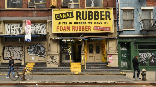 A survey of Canal Street's changing landscape