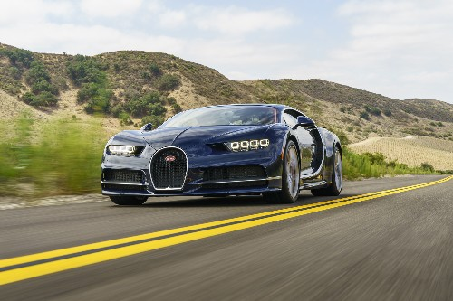 Looking at the Bugatti Chiron is just as much of an event as driving one
