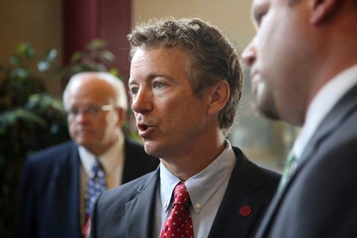 Rand Paul says Washington is full of 'idiots and trolls,' Silicon Valley should disrupt it