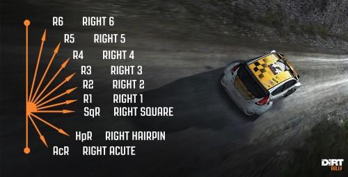 DiRT translates the lingo of rally racing