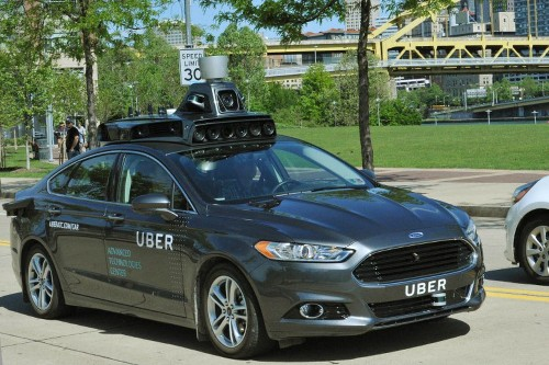 Meet Uber's first self-driving car