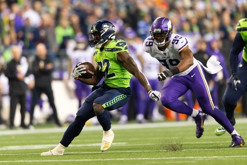 How the Seahawks offense rolled over the Vikings in the first quarter