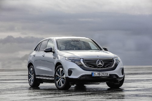 Mercedes-Benz's first serious all-electric car is a 402-horsepower SUV with over 200 miles of range