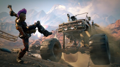 Rage 2 is a big, dumb shooter that's a lot of fun