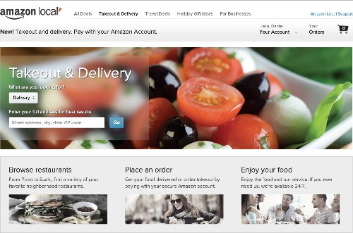 Amazon just entered the food delivery game