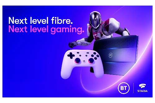 BT partners with Google to bundle free Stadia with broadband deals in the UK