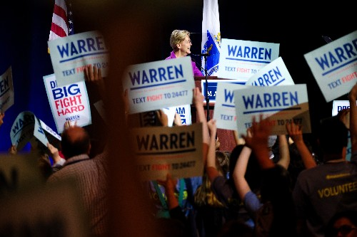 """""""Corruption is breaking our democracy"""": Elizabeth Warren's case for the White House"""