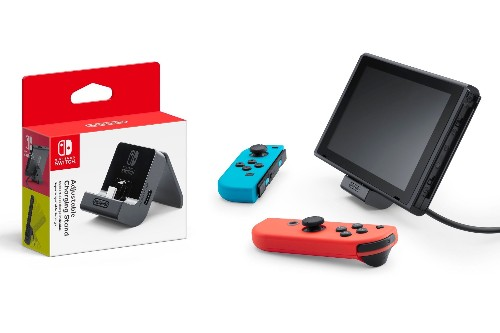Nintendo is fixing the Switch's bad kickstand with a $20 charging dock