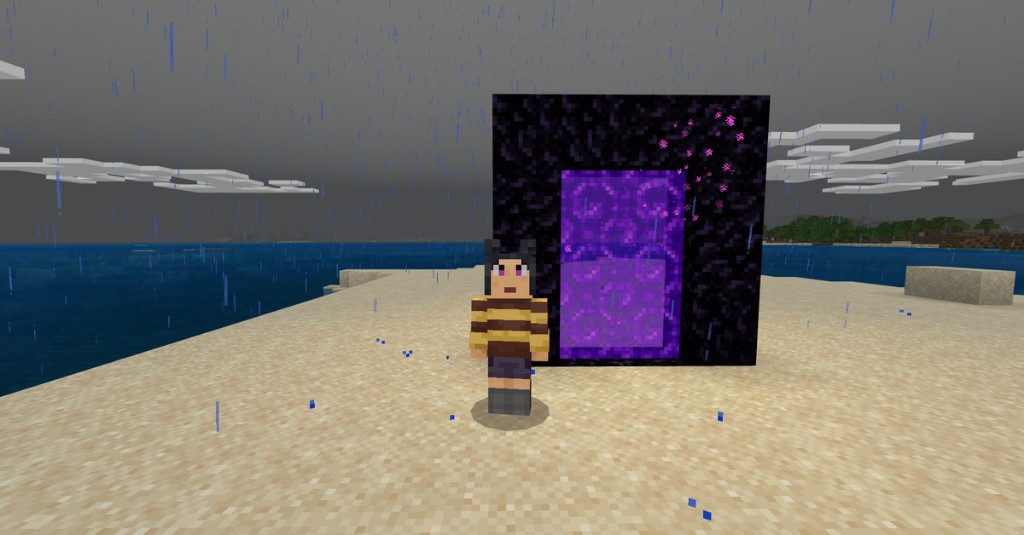 Minecraft guide: How to make a Nether Portal
