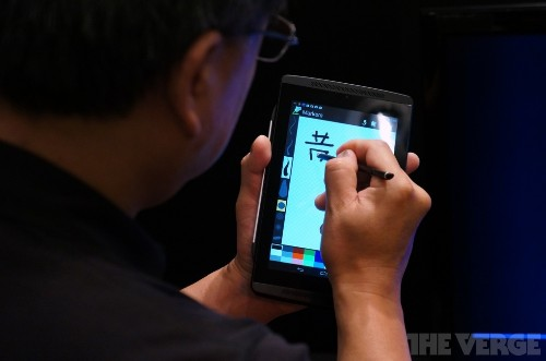 Nvidia shows how Tegra 4 graphics processing can improve stylus input