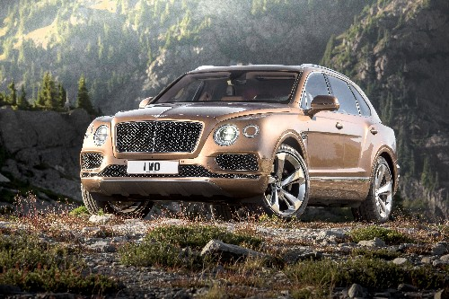 This is the Bentley Bentayga, the fastest SUV on the planet