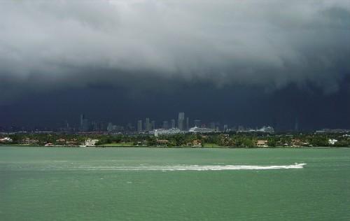 A vision of Miami's impending underwater apocalypse