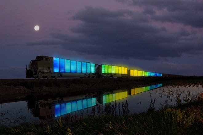In two weeks, a TV-covered train full of yurts and artists will begin its cross-country tour