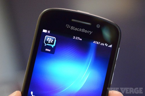 BlackBerry postpones launch of BBM for iOS and Android