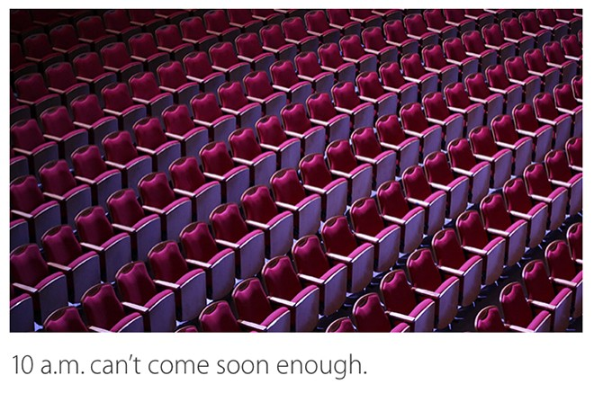 Apple is live blogging its own live event as it happens live