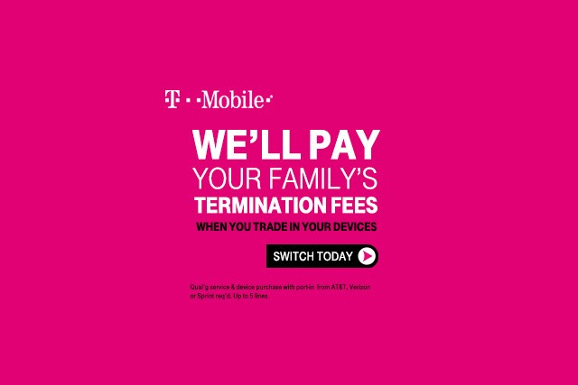 Ad leak suggests T-Mobile will pay for customers to switch to its service