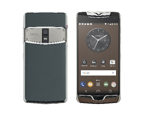 Vertu made another phone for the rich and tasteless