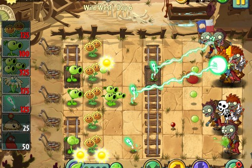 'Plants vs. Zombies 2' review: a leaf to the past