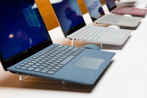 Microsoft's Surface Laptop feels beautiful