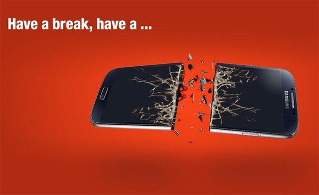 Nokia issues Samsung a KitKat death threat on Twitter