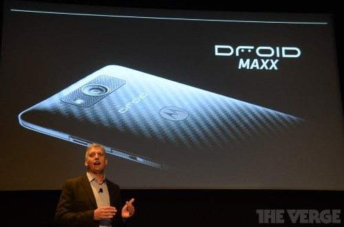 Motorola Droid Ultra introduced, overshadowed by Droid Maxx with 48-hour battery life