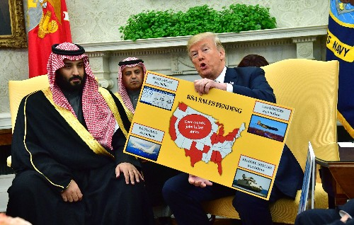 Trump tweeted he has no ties to Saudi Arabia. A Fox News account proved him wrong.