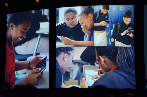 Google takes on Apple in schools with Google Play for Education