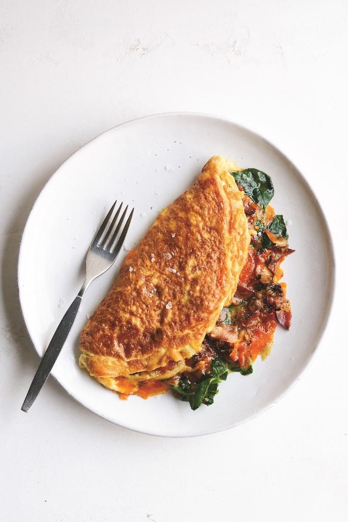 Omelette - Magazine cover