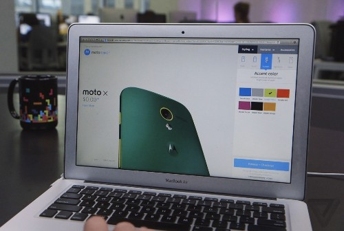 Build-a-Phone Workshop: my first encounter with Moto Maker and a customized Moto X