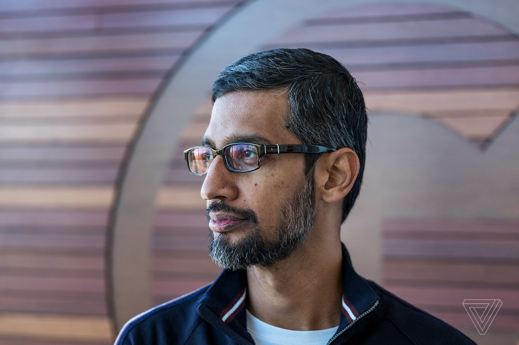Sundar Pichai says the future of Google is AI. But can he fix the algorithm?