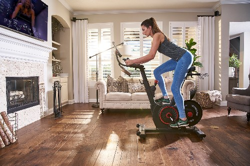 There sure were a ton of Peloton wannabes at CES