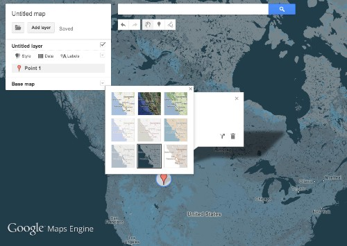 Google debuts Maps Engine Lite for the casual mapmaker