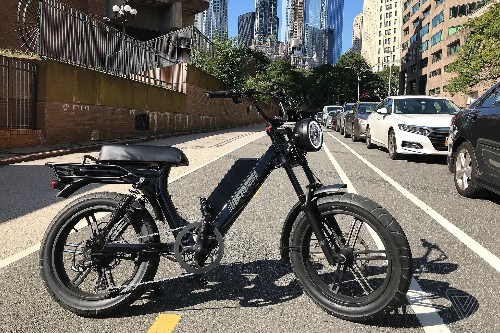 The Juiced Scorpion blurs the line between e-bike and motorcycle