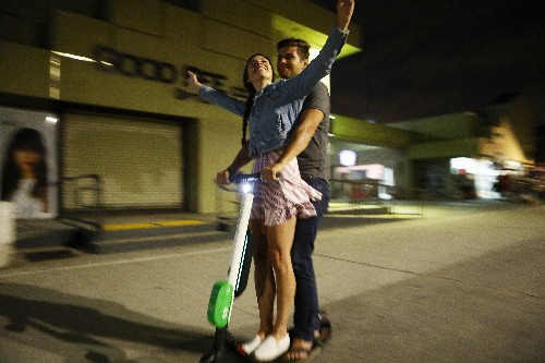The secret life of teen scooter outlaws