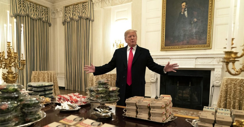 "Trump's tweet about ""hamberders"" illustrates just how effortlessly he lies"
