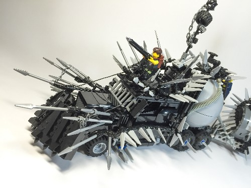 Mad Max's insane vehicles look awesome in Lego