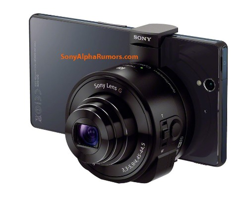 Sony's rumored 'lens cameras' turn any phone into a point-and-shoot