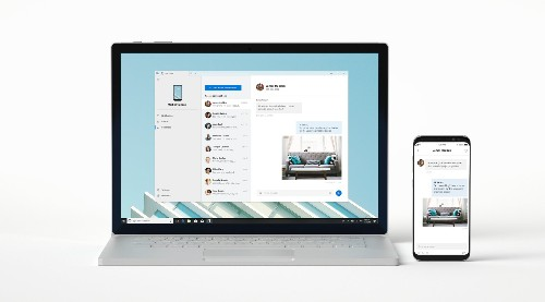 Windows 10 users can now try Microsoft's Your Phone app to mirror phone content to a PC