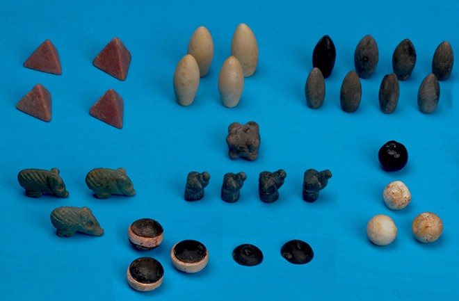 Archaeologists puzzled over immaculate, 5,000-year-old board game pieces