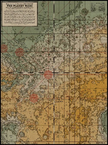 This Medieval map of Mars is actually accurate