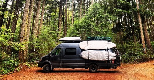 Camping 🏕️ Travel ✈️  + Outdoors - cover
