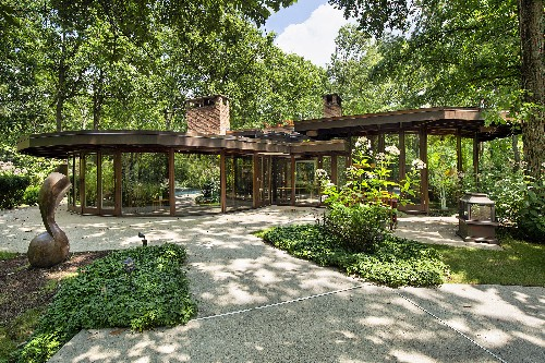 Midcentury modern stunner brings the outdoors in for $799K