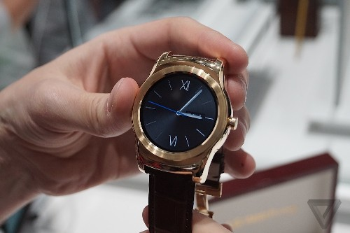 LG's $1,200 Urbane Luxe wraps short-lived technology in timeless gold